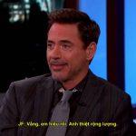 Cuộc trò chuyện thú vị với Robert Downey Jr
