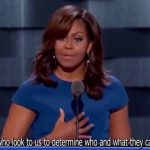Học Tiếng Anh qua bài diễn thuyết của Đệ Nhất Phu Nhân- Michelle Obama