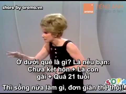 Luyện nghe Tiếng Anh với cô nàng nói về chủ đề GÁI Ế!