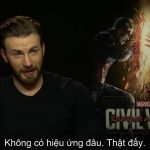 Phỏng vấn Chris Evans