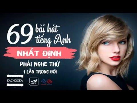 Tuyển tập 69 ca khúc tiếng Anh dễ nghe cho người mới bắt đầu
