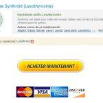 Meilleure offre sur Generics. Acheter Synthroid Pharmacie. Bonus Livraison gratuite