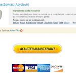 Zovirax En France. Payer Par Mastercard