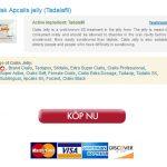 Inköp Över Disken 20 mg Apcalis jelly – Privat och säker Beställningar – Gratis Kurir Leverans