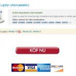 Lågt Pris 20 mg Lipitor Inköp / Billigaste priserna någonsin / Bästa Amerikanska På Nätetapotek