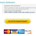Acheter Noroxin Europe – Économisez de l'argent avec Generics – Livraison trackable