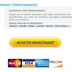 Prix Du Methocarbamol En Pharmacie En France – Payer Par Mastercard – Livraison dans le monde entier