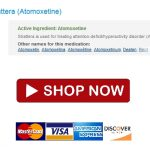 Atomoxetine pillen Buy Now And Safe Your Money