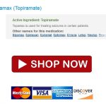 Order Topamax 100 mg Canada – Drug Shop – We Accept BTC