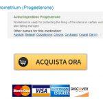 Generico Prometrium Acquista * Spedizione gratuita * Canadian Pharmacy Sconto SanitA�