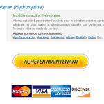 Achat Atarax A Paris :: Livraison gratuite dans le monde :: BTC accepté