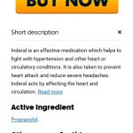Canadian Pharmacy * Inderal 10 mg goedkope recepten
