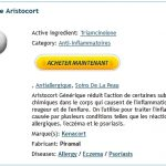 Site Vente Aristocort Serieux – Sans Rx – livraison garantie