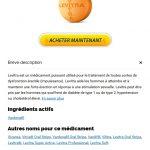 Levitra 10 mg En Belgique